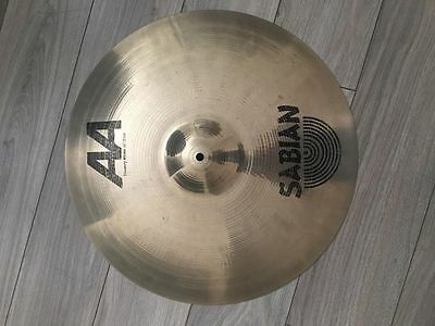 """Sabian 20"""" AA Heavy Ride Cymbal - Used Excellent Condition"""