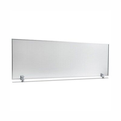 Alera Polycarbonate Privacy Panel, 47w x 18h, Silver S4718