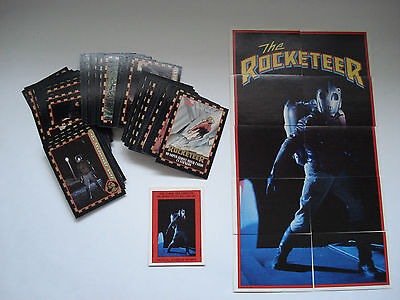 The Rocketeer Trading Card Set Of 99 Cards And 11 Cards Stickers Puzzle Topps