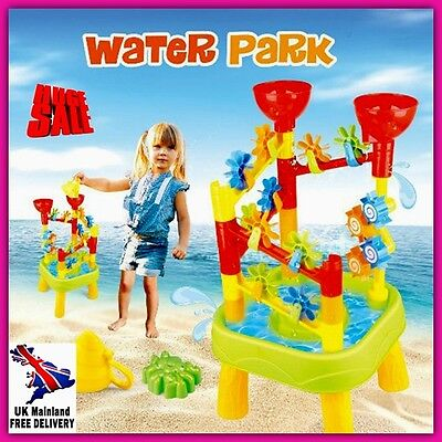 Sand And Water Play Table Kids Toy Accessories Outdoor Activity Centre Children