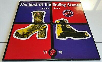 THE ROLLING STONES-Jump back(2LP)1993 VIRGIN V2726+INSERTS EX/NM
