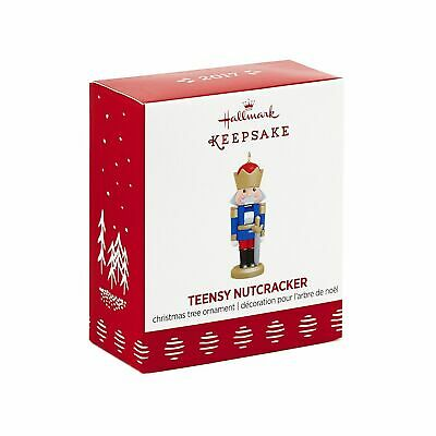Teensy Nutcracker 2017 Hallmark Mini Ornament Ballet Nutcracker Suite  In Stock