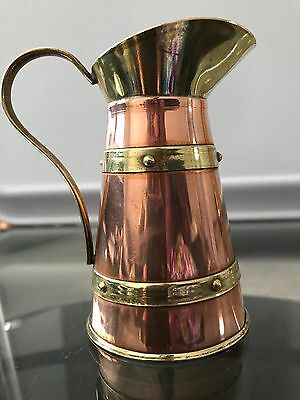 Beautiful Decorative Vintage Copper & Brass Jug/vase(Made In England)