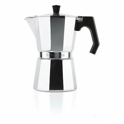 WHITE BROWN Cafetiere Taurus italienne 6 tasses tous feux sauf induction