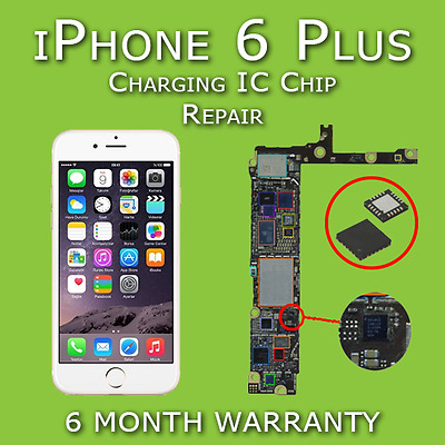 iPhone 6 Plus Charging USB IC U2 Chip 1610A2 Motherboard Repair Not Charging Fix
