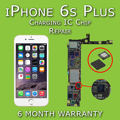 iPhone 6s Plus Charging USB IC U2 Chip 1610A2 Motherboard Repair | Not Charging