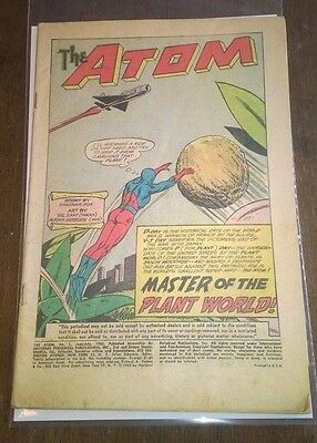 The Atom #1 june 1962 Coverless, But Complete DC Comics Silver Age