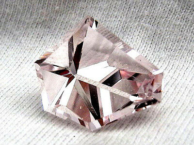 55.)  Morganit  - Morganite  Madagascar  9,09Ct