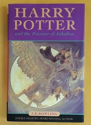 Harry Potter And The Prisoner Of Azkaban Hardcover Bloomsbury 9Th Printing