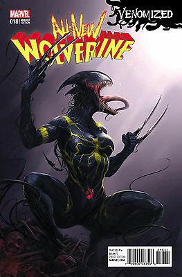 ALL NEW WOLVERINE #18 MATTINA VENOMIZED VARIANT Marvel 1st Print New Unread NM
