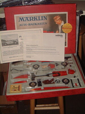 Marklin 75Th Anniversary Edition, Tin Konstrukteure Kit Model 1076 Silver Arrow