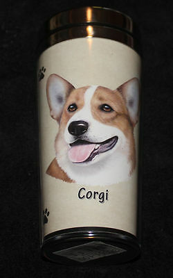 Welsh Corgi Dog Stainless Steel Insulated Travel Tumbler Thermos