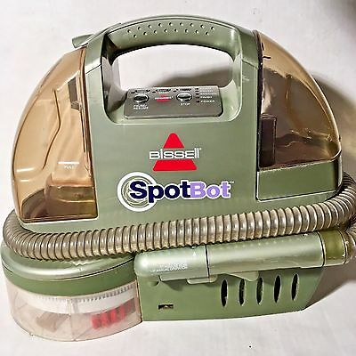 Bissell Spotbot 1200 Carpet/Couch/Car/etc Deep Cleaning Machine -Easily Portable