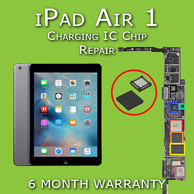 Apple iPad Air 1 Charging IC Chip Replacement Repair Service (Not Charging Fix)