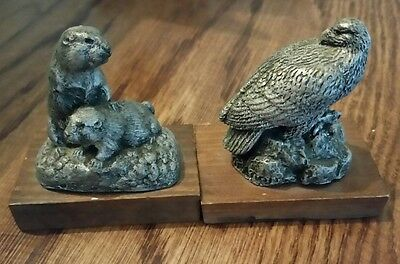 Deaton Museum Products - Bald Eagle & Black-Tailed Prairie Dog - Newton, Iowa
