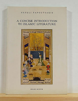 A Concise Introduction to Islamic Literature 2007 Papoutsakis Arabic Persian