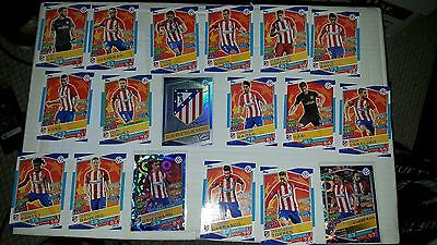2016/17 Topps Match Attax UEFA Champions League Team Set Madrid
