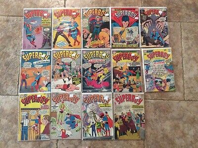 Superboy 14 Issue Comic Lot 97 99 114 117 122 124 132 134 135 144 145 156 165
