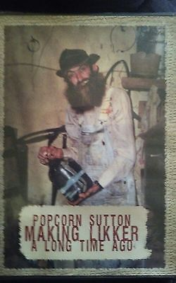Rare Dvd.popcorn Sutton Making Likker A Long Time Ago.moonshine Collectable.