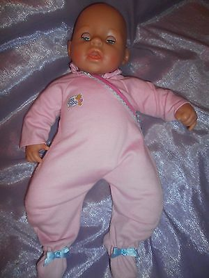 "Little 17"" Chou Chou baby doll by Zapf Creations."