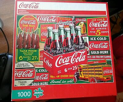 Coca Cola Puzzle by Buffalo
