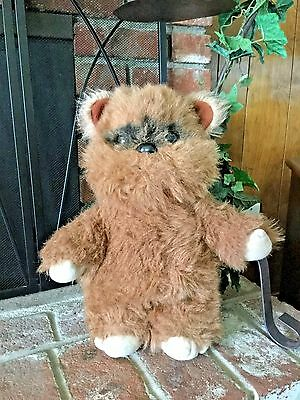 "1983 Vintage Star Wars Return Of The Jedi Wicket The Ewok 17"" Plush"