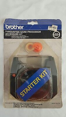 Brother SK-100 Black Typewriter/Word Processor Starter Accessory Kit GENUINE NEW