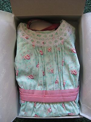 Nib~American Girl~Samantha's Special Day Dress~Stockings~Shoes~Hair Bow