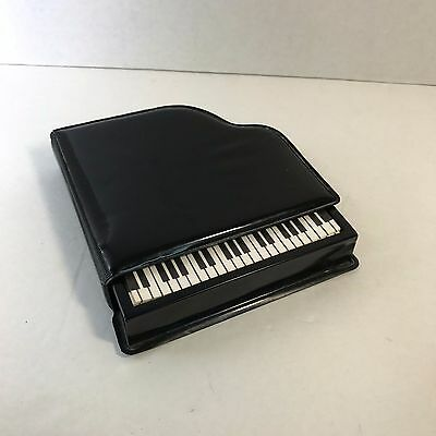 Grand Piano Stationery Set - Paper in Vinyl Piano Case 1984
