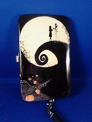 Nightmare Before Christmas Cell phone Hinge Wallet Used in great shape