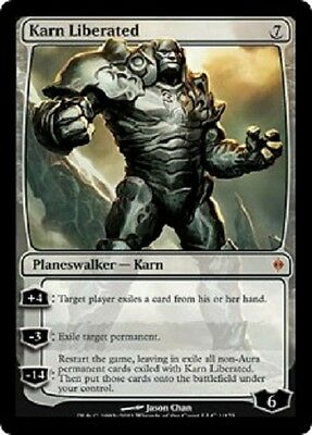 Magic: the gathering MTG Karn Liberated New Phyrexia