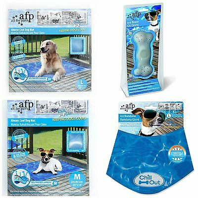 All For Paws Chill Out Range-Bandana, Ice Mat, Rehydration Bone, Water Fountain