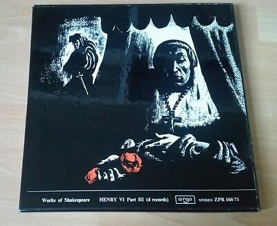 "The Works Of William Shakespeare(4x12"" Vinyl LP Box Set)Henry VI Part III"
