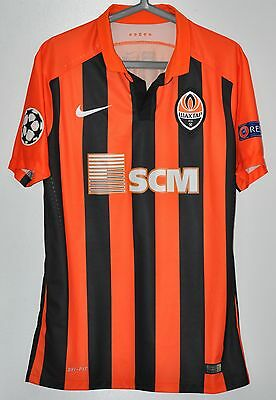 Shakhtar Donetsk Ukraine Match Worn Football Shirt #74 Viktor Kovalenko