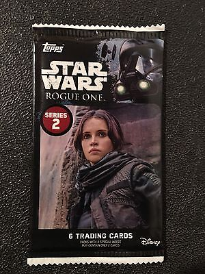 2017 TOPPS STAR WARS ROGUE ONE Series 2 Patch/relic/plate/auto Hot Pack!