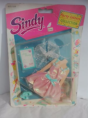 Rare Vintage Sindy Hasbro 1990 Party Letters Collection Outfit New