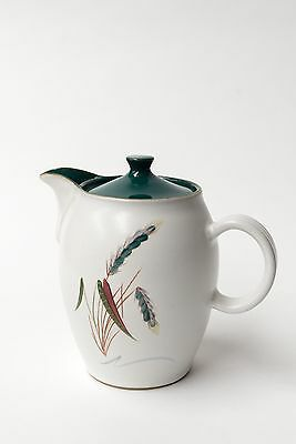 Denby Greenwheat Teapot - Tall Variation