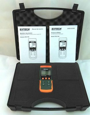 extech SDL700 pressure meter / datalogger  with SD card and case