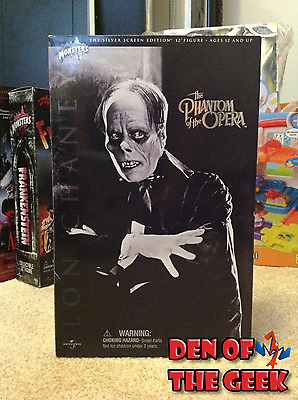 "Phantom Of The Opera Sideshow 12"" Figure Lon Chaney Universal Monsters Dracula"