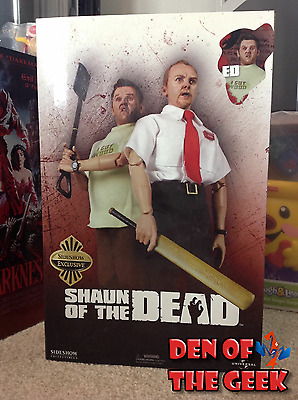 "Shaun of the Dead Sideshow Exclusive 12"" Ed Figure Nick Frost"