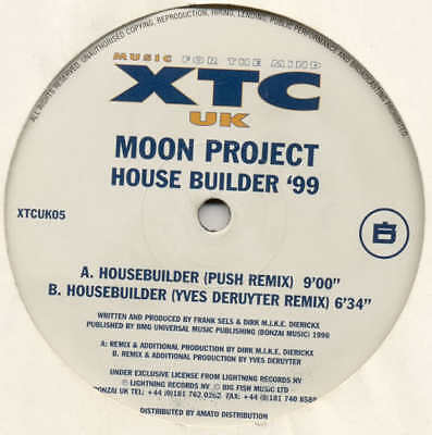 "MOON PROJECT House Builder - Yves Deruyter 12"" MIX"