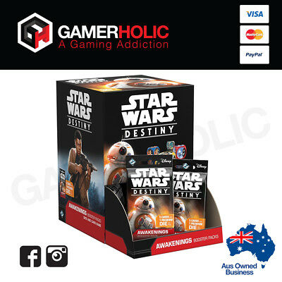 Star Wars Destiny Awakening Booster Box Display Brand New