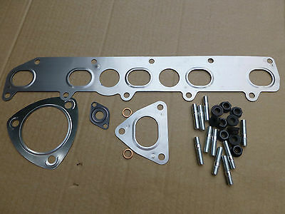 Land Rover Td5 Manifold Gasket+Studs+Nuts Set-Defender-Discovery 2-Exhaust.