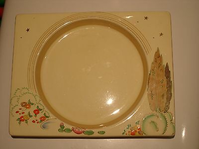 Clarice Cliff Original Art Deco Biarritz Napoli Side Plate