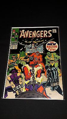 Avengers #54 - Marvel Comics - July 1968 - 1st Print - 1st appearance of Ultron