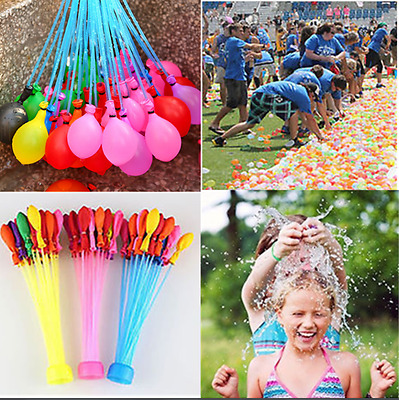 111pcs Magic Already Tied Water Balloons  Kids Garden Party Summer Toy