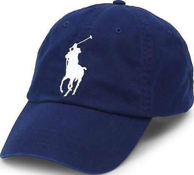 Polo Ralph Lauren Big Pony Black/ Navy Blue Baseball  Cap (70%off) Free Postage