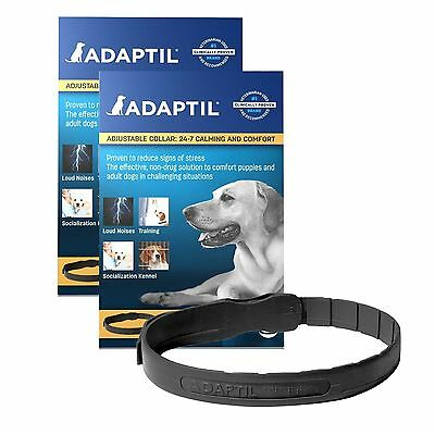ADAPTIL DOG CALMING COLLAR - Adjustable Collar available in 2 Sizes BEST PRICE!!