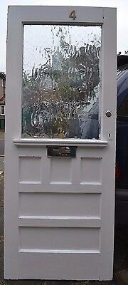 British (potentially leaded light stained glass) door. R531. DELIVERY!!!
