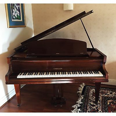 CHALLEN - Baby Grand Piano 1936 in Mahogany